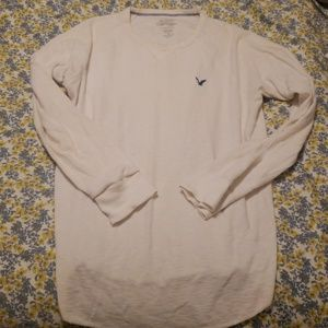 American Eagle thermal crew neck